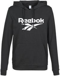 Reebok Sweater Cl F Vector Hoodie - Zwart