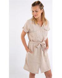 Bermudes Robe courte Robe chemise CALI - Neutre