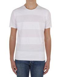 Daniele Alessandrini M7494E6434100 T-shirt - Blanc