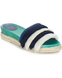 Miss L Fire Slippers Zoey - Blauw