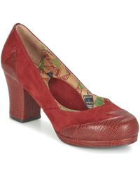 Miss L'Fire | Addie Women's Court Shoes In Red | Lyst