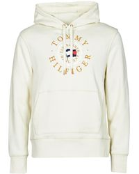 Tommy Hilfiger ICON COIN HOODY Sweat-shirt - Blanc
