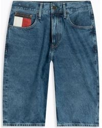 Tommy Hilfiger Short DM0DM08049 REY RELAXED - Bleu