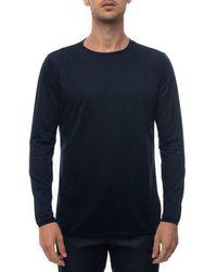 Kiton T-shirt UMCTSHG11 - Bleu