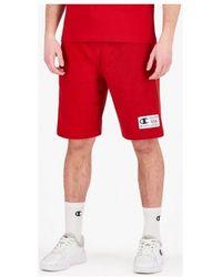 Champion Short Bermudas (215922) - Rojo