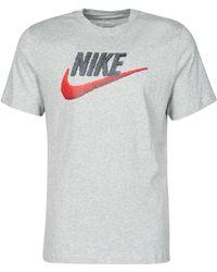 Nike Camiseta con logo - Gris
