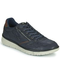 Allrounder By Mephisto Lage Sneakers Majestro - Blauw