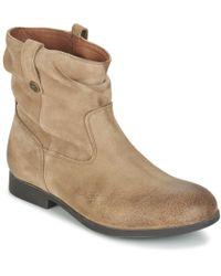 Birkenstock - Sarnia Women's Mid Boots In Brown - Lyst