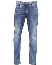 G-Star RAW Skinny Jeans D-staq 3d Slim - Blauw