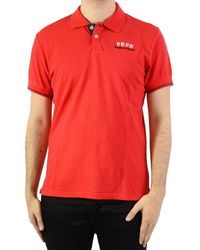 Pepe Jeans Polo Fell - Rouge