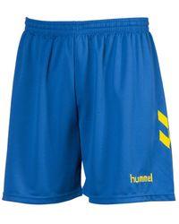 Hummel Korte Broek Short Classic - Blauw