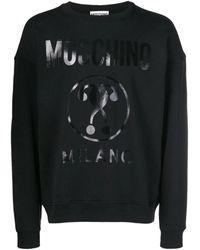 Moschino Sweat-shirt ZA1704 - Noir