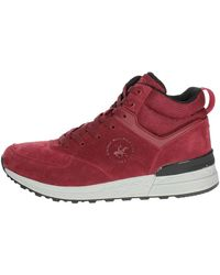 Beverly Hills Polo Club Hoge Sneakers Bh-7000 - Rood
