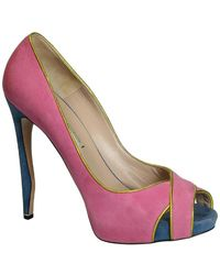 Nicholas Kirkwood 12S0683B Chaussures escarpins - Rose