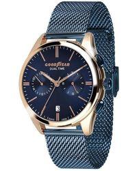 Goodyear Reloj analógico UR - G.S01228.01.06 - Azul