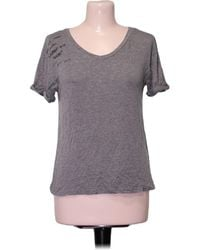 Pull&Bear Top manches courtes - S Blouses - Gris