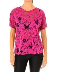Desigual T-shirt T-shirt femme à manches courtes - Rose