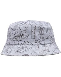 RIPNDIP Sharpie bucket hat - Azul