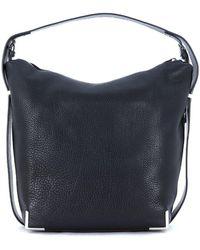 Alexander Wang - Prisma Shoulder Bag In Black Tumbled Leather Women's Shoulder Bag In Black - Lyst