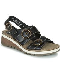 Fly London Sandalen Tear2 Fly - Zwart