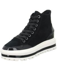 Gerry Weber - Lola 02 Women's Shoes (high-top Trainers) In Black - Lyst