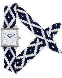 Rich Gone Broke - Fred Cuzco Watch 51630 Navy Blue Women's Watch In Blue - Lyst