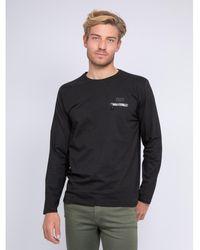 Ritchie T-shirt manches longues col rond JOSTRA T-shirt - Noir