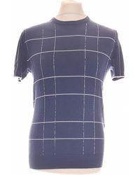 MICHAEL Michael Kors T-shirt Manches Courtes 34 - T0 - Xs T-shirt - Bleu