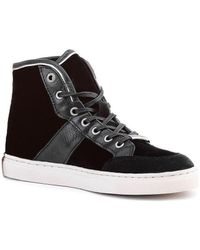 Tommy Hilfiger Tina 4c Women's Shoes (high-top Trainers) In Black