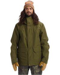 Burton GoreTex Breach Jacket Parka - Vert