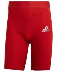adidas Techfit - Rojo