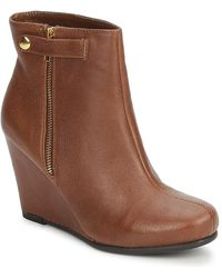 Chinese Laundry Very Best Low Ankle Boots - Brown
