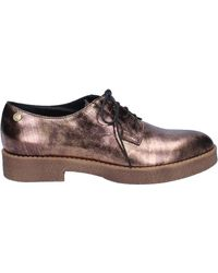 Liu Jo Elegant Bronze Leather By591 Casual Shoes - Pink