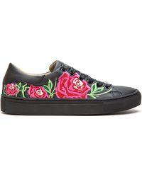 Nae Vegan Shoes Rose Black Chaussures - Noir