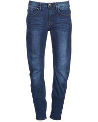 G-Star RAW Jeans ARC 3D LOW BOYFRIEND - Azul