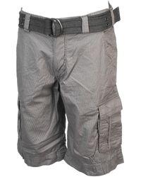 Teddy Smith Sytro 3 gris short cargo Short