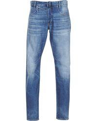 G-Star RAW Straight Jeans D Staq 5 Pkt Tapered - Blauw