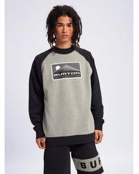 Burton Sweater Vista Crew - Grijs