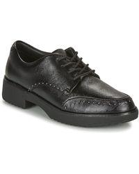 Fitflop KEELY MICROSTUD BROGUES femmes Chaussures en Noir
