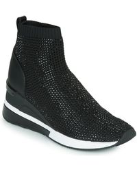 MICHAEL Michael Kors Zapatillas altas SKYLER - Negro