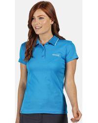 Regatta Polo Maverick V Polo féminin - Bleu