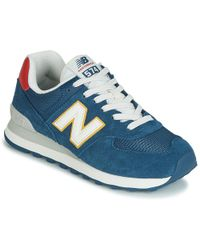 New Balance Ml574 Gpf Men's Shoes (trainers) In Blue for Men