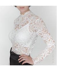 Yours Paris LOUISA Chemise - Blanc