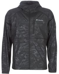 Columbia Windjacks M Flash Forward Print - Zwart