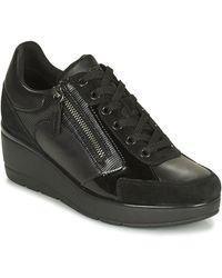 Geox Lage Sneakers Ilde - Zwart