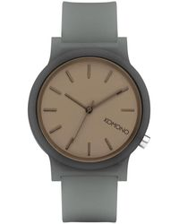Komono Horloge Watch Mono Glow - Grijs