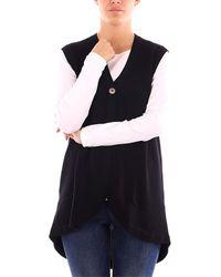 Gran Sasso Jersey MAXI MAGLIA suéteres mujer negro