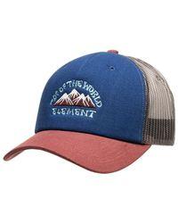 Element Pet Icon Mesh Cap - Blauw