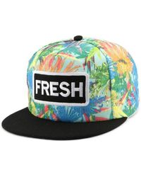 Hip Hop Honour - Snapback FRESH Bleue et Orange Casquette - Lyst