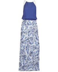 Rip Curl - Last Tribe Maxi Drs Women's Long Dress In Blue - Lyst